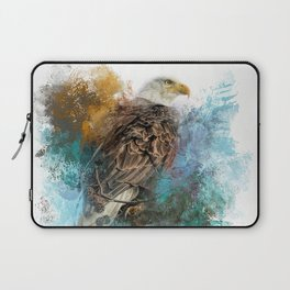 Expressions Bald Eagle Laptop Sleeve