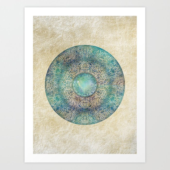 Moonchild Mandala Art Print