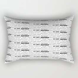 F* Cancer Explicit Rectangular Pillow