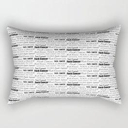Fuck Cancer Explicit Rectangular Pillow
