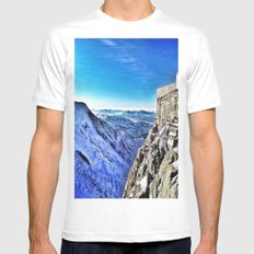 Mont-Blanc-France Mens Fitted Tee White MEDIUM