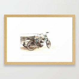 Pedicab Framed Art Print