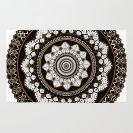 Copper Mandala Rug