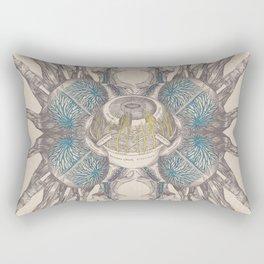 Anatomy Collage 4 Rectangular Pillow