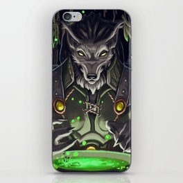 Brewing Potions iPhone Skin
