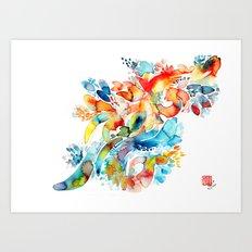 Amazon Paradise Art Print