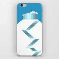 greece iPhone & iPod Skins featuring GREECE by Marcus Wild