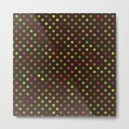 Polka Dots 3a Metal Print