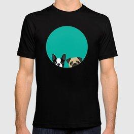 B Terrier & Pug T-shirt