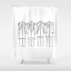 Sgt. Peppers BW Shower Curtain