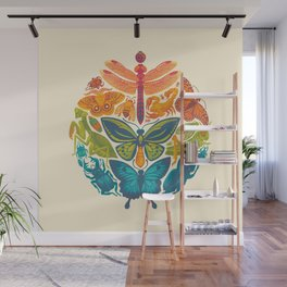 Bugs & Butterflies Wall Mural