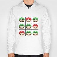 luigi Hoodies featuring Super Mario Luigi  by Xiao Twins