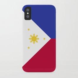 Philippines flag emblem iPhone Case
