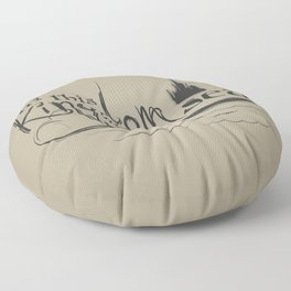 Kingdom by the Sea Floor Pillow
