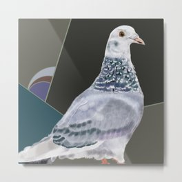 Femke's Pigeon Metal Print