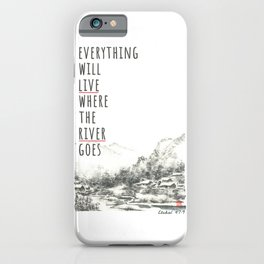 River of Living Water iPhone Case