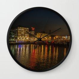 Seaport District Wall Clock