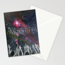 the truth is dead · your holiness algorithm Stationery Cards