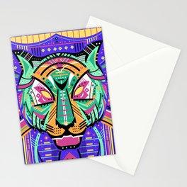 Symmetric Animals. TIGER Stationery Cards