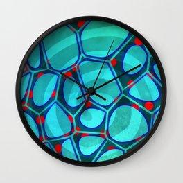 Modern Abstract Painting Six Wall Clock