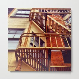 Day Two: Look Up & Escape Metal Print