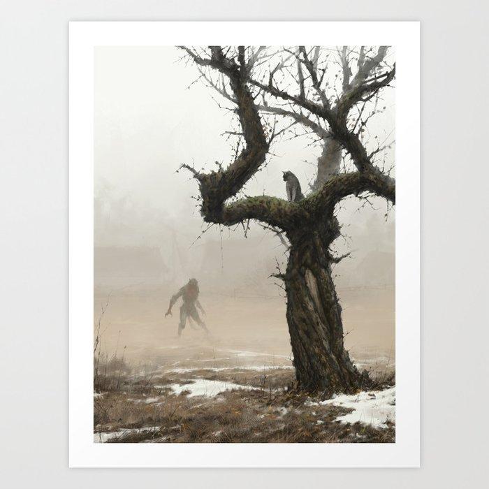 old apple tree Kunstdrucke