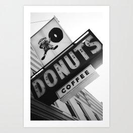 Buckeye Donuts  Art Print