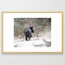 Contentment Framed Art Print