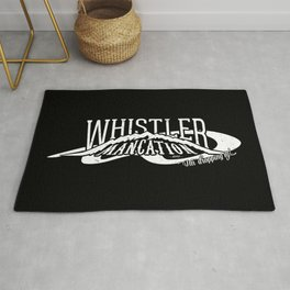 Whistler Mancation 2013 Rug