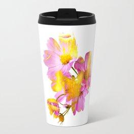 New Mixed Era -  Purple Faced Flower Travel Mug