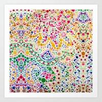 confetti Art Prints featuring Confetti by Love2Snap