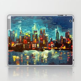 Abstract NYC Skyline Laptop & iPad Skin