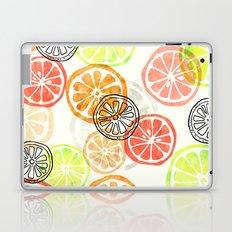 Lemon Slices Laptop & iPad Skin