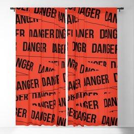 Danger Blackout Curtain