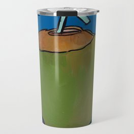 Fresh Coconut - ready to sip! Travel Mug