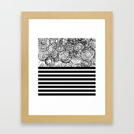 strong & confused Framed Art Print