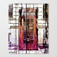 telephone Canvas Prints featuring Telephone by Del Vecchio Art by Aureo Del Vecchio