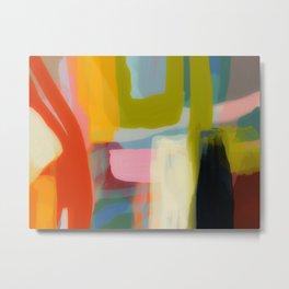 Color study 1 abstract art Metal Print