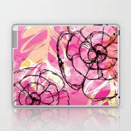 Dancing Florals Laptop & iPad Skin
