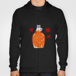 Super Canadian Maple Syrup Pattern Hoody