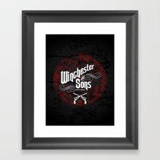 Winchester & Sons Framed Art Print