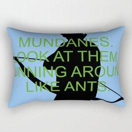 Alec Lightwood - Mundanes Rectangular Pillow
