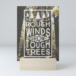 TOUGH TREES Mini Art Print