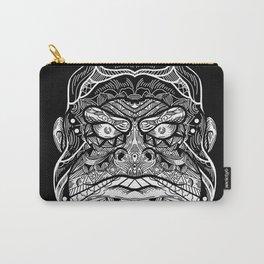 Gorilla Mandala Art Carry-All Pouch