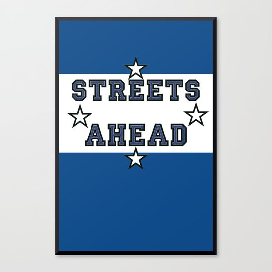Streets Ahead Canvas Print