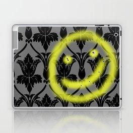 Sherlock smiling wall Laptop & iPad Skin