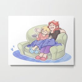Couch Chosen Metal Print