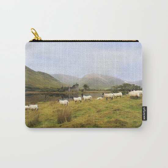 Morning at Kilchurn Carry-All Pouch