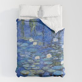 waterlilies a la Monet Comforters