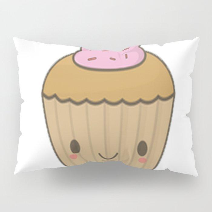 Cupcake Pun Pillow Sham
